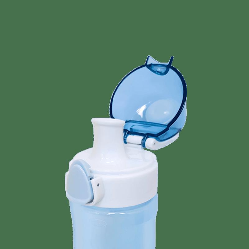 Bottle transparent blue 3