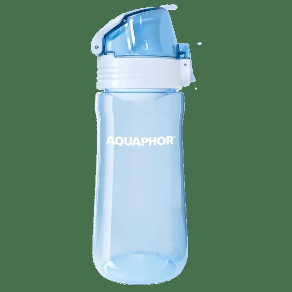 Bottle transparent blue 1