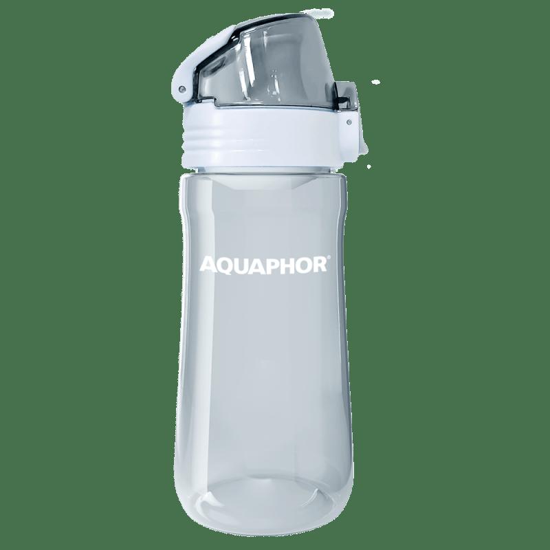 Bottle transparent blue 6