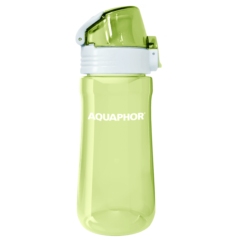 Bottle transparent blue 5
